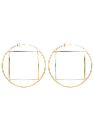 Lux Hoops Gold