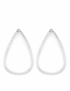De Carl Earrings Silver