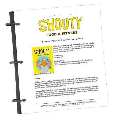 Life of Shouty: Food & Fitness Lesson Plan and Discussion Guide