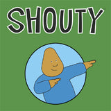 Shouty Tee (Green)