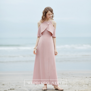 The Raylie Chiffon Cold Shoulder Dress (Customisable)