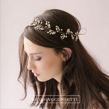 Load image into Gallery viewer, Bridal Headpieces (Various Designs)