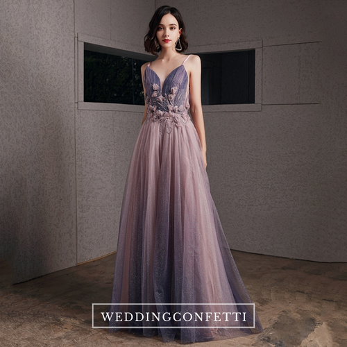 The Beverly Ombre Tulle Gown