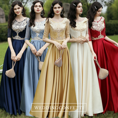 The Reesa Long Sleeved Dress (Various Colours)