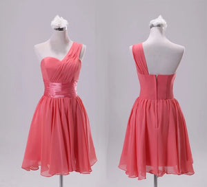 *Brand New* Watermelon Red Short Toga Dress  - WeddingConfetti