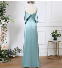 Load image into Gallery viewer, The Carroll Satin Bridesmaid Dress (Customisable) - WeddingConfetti