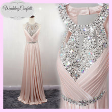 Load image into Gallery viewer, The Lovelia Halter Evening Gown (Many Colours Available) - WeddingConfetti