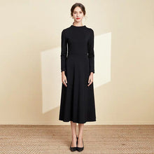 Load image into Gallery viewer, The Linda Black Short/Long Sleeves Dress - WeddingConfetti