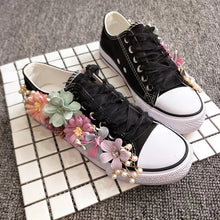 Load image into Gallery viewer, Wedding Bridal Floral Sneakers (Available in 2 colours) - WeddingConfetti