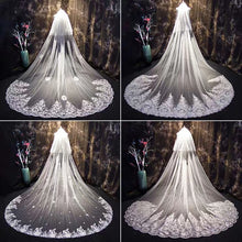 Load image into Gallery viewer, Wedding Bridal Veil (9 Different Designs)