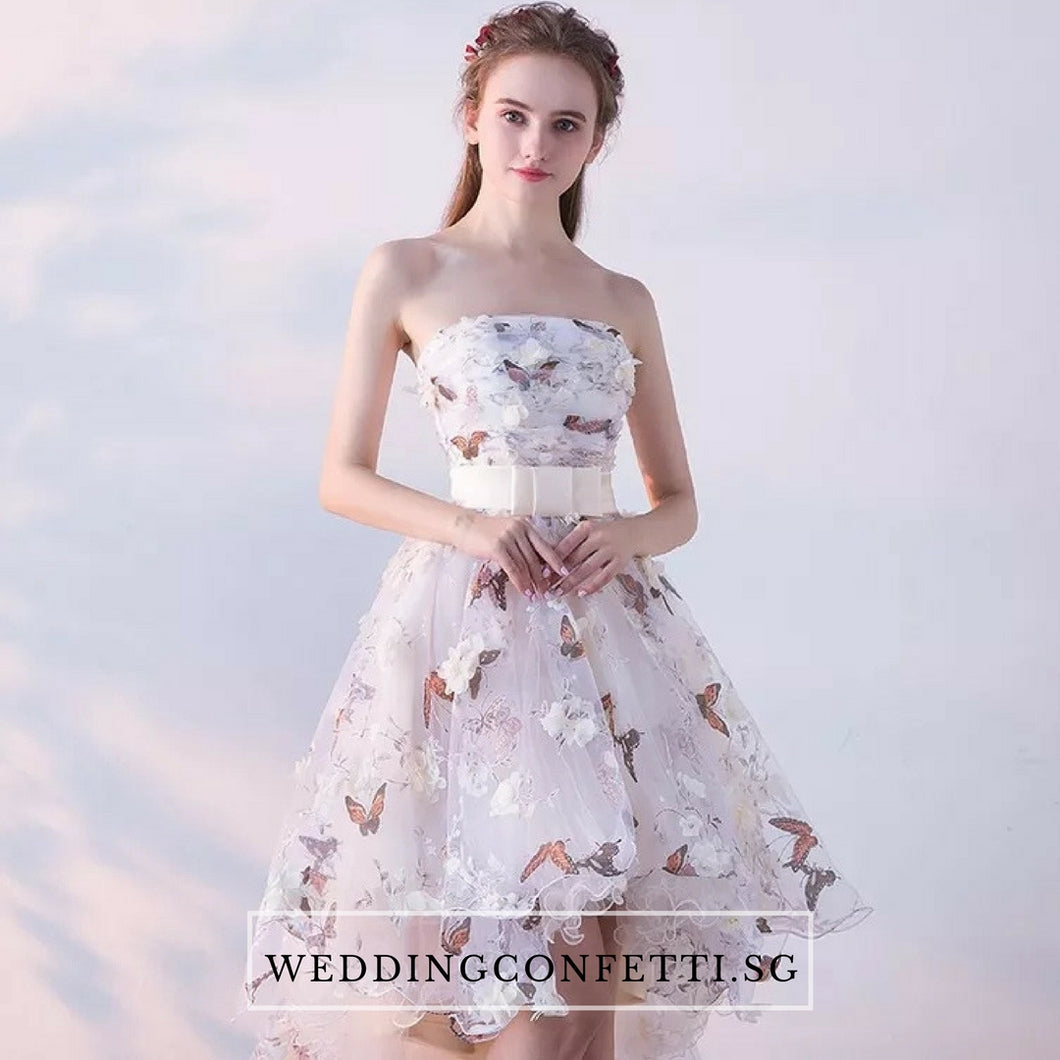 The Spring Blossoms Zinnia Tube Dress - WeddingConfetti
