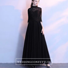 Load image into Gallery viewer, The Coreen Long Sleeves Lace Dress (Available in 3 colours/Customisable) - WeddingConfetti