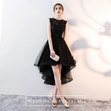 Load image into Gallery viewer, The Louise Sleeveless Black Gown - WeddingConfetti