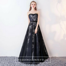 Load image into Gallery viewer, The Lyvenne Navy Blue Tube Gown - WeddingConfetti