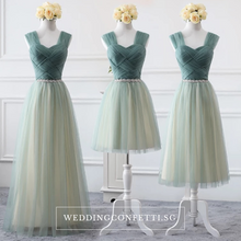 Load image into Gallery viewer, The Athelia Bridesmaid Sleeveless Tulle Dress