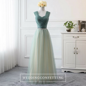 The Athelia Bridesmaid Sleeveless Tulle Dress