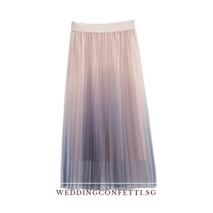 The Falista Ombre skirt - WeddingConfetti