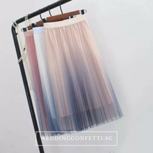 Load image into Gallery viewer, The Falista Ombre skirt - WeddingConfetti
