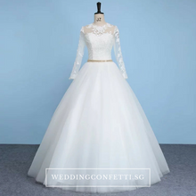 Load image into Gallery viewer, The Rochelle Wedding Bridal Gown - WeddingConfetti