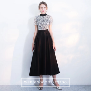 The Sophielle Lace Short Sleeves Gown
