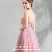 Load image into Gallery viewer, The Pamelia Toga Pink Dress - WeddingConfetti