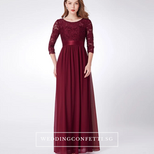 Load image into Gallery viewer, The Cadenza Long Sleeves Dress (Available in 4 Colours) - WeddingConfetti