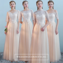 Load image into Gallery viewer, The Kosta Bridesmaid Collection (Champagne)