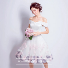 Load image into Gallery viewer, The Marissa Wedding Bridal Floral Dress - WeddingConfetti