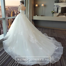 Load image into Gallery viewer, The Henreitta Wedding Bridal Tube White Gown