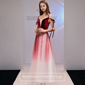 The Sephina Ombre Gown  (Available in 3 colours) - WeddingConfetti