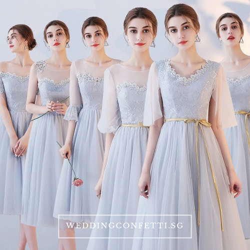 The Eleanor Bridesmaid Collection (Grey)