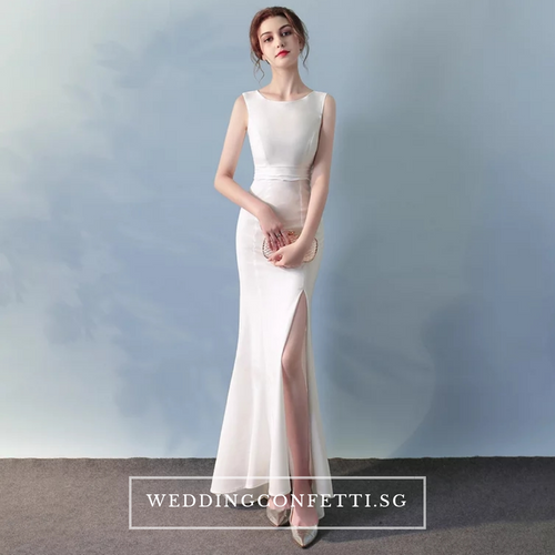 The Calista Sleeveless Dress (Customisable) - WeddingConfetti