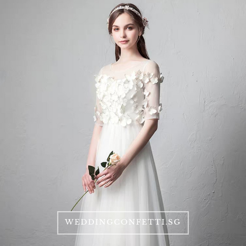 The Canary Butterfly Wedding Bridal Gown