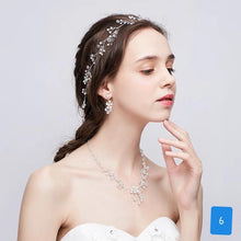 Load image into Gallery viewer, Bridal Diamonte Headpiece / Tiaras - WeddingConfetti