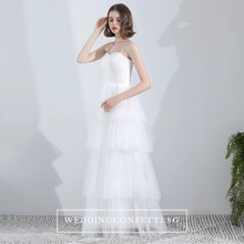 Load image into Gallery viewer, The Orelia Wedding Bridal Bohemian Two Piece Dress