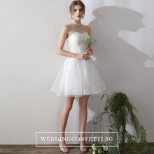Load image into Gallery viewer, The Terrine Tube Short Gown - WeddingConfetti