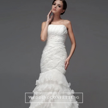 Load image into Gallery viewer, The Carlista White Tube Gown - WeddingConfetti