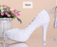 Load image into Gallery viewer, Wedding Bridal Red / Pink / White Heels