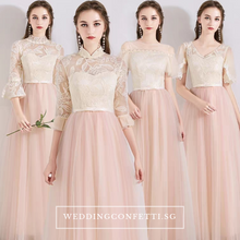 Load image into Gallery viewer, The Erinya Pink Bridesmaid Collection - WeddingConfetti