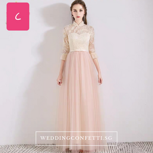 The Erinya Pink Bridesmaid Collection - WeddingConfetti