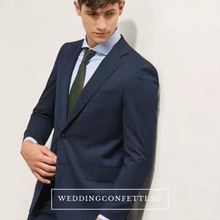 Load image into Gallery viewer, Duxton Groom Men's Suit Jacket And Pants (3 piece) - WeddingConfetti