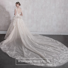 Load image into Gallery viewer, The Oaklynn Wedding Bridal Lace Wedding Gown - WeddingConfetti