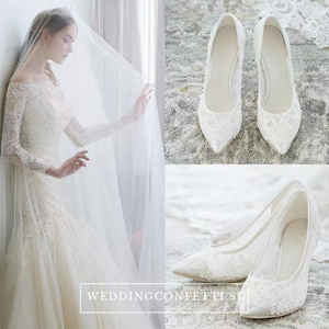Wedding Lace Heels