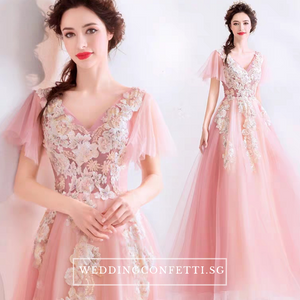 The Ansella Tulle Pink Gown - WeddingConfetti