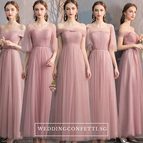 The Rossaline Bridesmaid Tulle Series