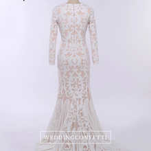 Load image into Gallery viewer, The Kesha Long Sleeves Gown - WeddingConfetti
