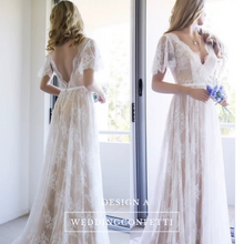 Load image into Gallery viewer, Bohemian Wedding Dresses (Various Designs) - WeddingConfetti