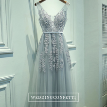 Load image into Gallery viewer, The Serena Tulle Sleeveless Gown (Customisable) - WeddingConfetti
