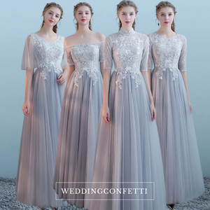 The Kosta Bridesmaid Collection (Grey) - WeddingConfetti