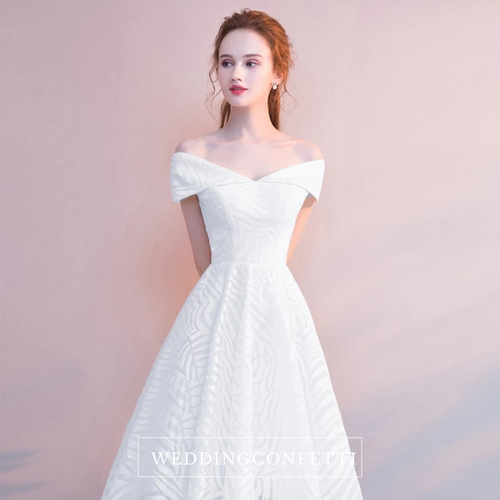 The Ryndelle Off Shoulder Gown (Available in 5 colours) - WeddingConfetti